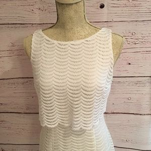 American Living Sleeveless Ivory Dress
